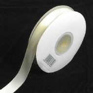 Ivory Double Faced Satin Ribbon. 3mm x 50meters Per Reel